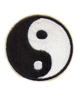 """YIN YANG IRON ON PATCH 2"""" Tai Chi Martial Arts Embroidered Applique NEW ... - $5.99"""