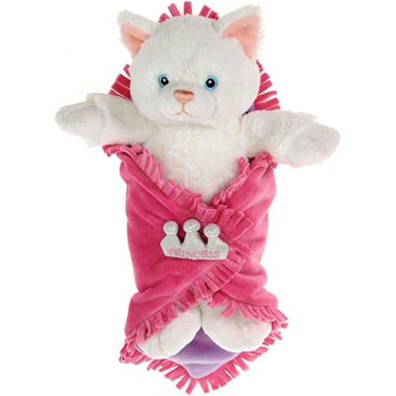 Image 0 of Sweet Fiesta Baby White Kitten Blanket Babies 11