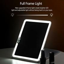 Cristallio 36 LED Makeup Mirror USB Rechargeable - Foldable - Brightness... - $24.99
