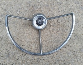 Vintage 1962 1963 Ford Fairlane 500 Car vehicle Horn Ring used good cond... - $59.99