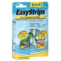 Tetra EasyStrips 6-in-1 Aquarium Test Strips, 25-Count - $14.85