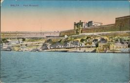 Malta Fort Ricasoli - $5.00