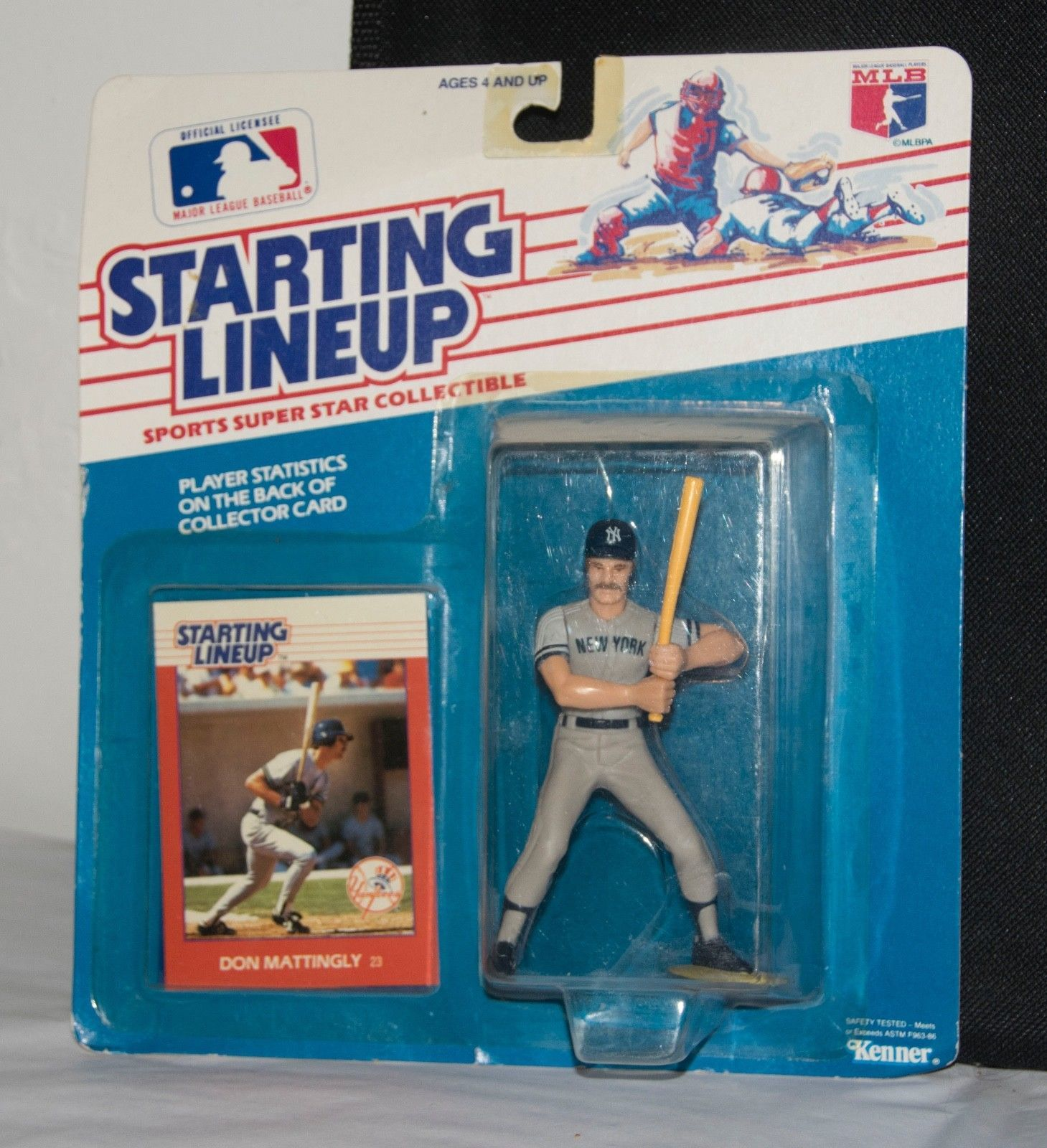 Primary image for Don Mattingly * Kenner STARTING LINEUP Sport Super Star Figurine Baseball 1988