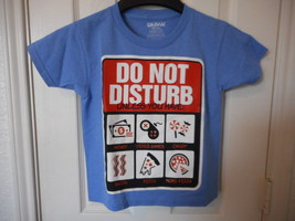 Boys Graphic T Shirt Size Medium 8 Do Not Disturb Unless You Have:  - $7.91