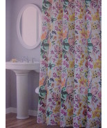 Nicole Miller Garden Party Floral on Gray Shower Curtain - $36.00