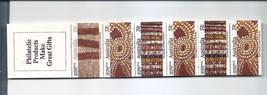AUSTRALIA  1987 Aboriginal Crafts Booklet Scott 1051a SG SB58 1094a - $3.75