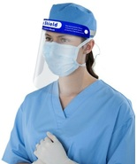Full Face Shield Clear Flip Up Visor Medical Dental - $4.99