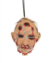 Head/Barbed Wire Hanging Prop,Halloween Party Accessory Prop/Room Decora... - $16.89