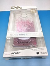 Case-Mate Naked Tough Waterfall Case MOTO Z2 Play Waterfall Rose Gold - $12.19