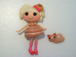 LALALOOPSY BUN BUN STICKY ICING MINI DOLL FIGURE WITH PET, EXCELLENT - $16.61