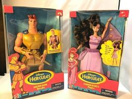 Vintage Disney Hercules And Megara Original Barbie Dolls In Boxes 1996 N... - $178.15