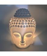 Ceramic Aromatherapy Oil Burner Buddha Head Aroma Buddha Incense Burner ... - $37.00