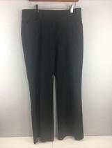 """Ann Taylor Signature Pants Size 6 Black Dress 33 x 31"""" Poly Rayon Spande... - $11.88"""