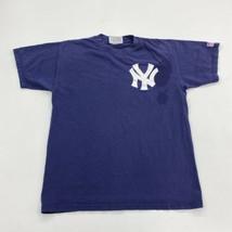 MLB T-Shirt Mens M Blue New York Yankees Classic 100% Pre-shrunk Cotton ... - $17.99