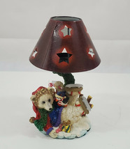 """Tealight Candle Holder Holiday Time Bear Penguine 8"""" ( approx. ) - $23.77"""