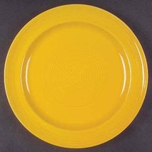 "Concentrix Saffron Yellow China Stoneware Large Dinner Plate 11 1/4"" by ... - $18.99"