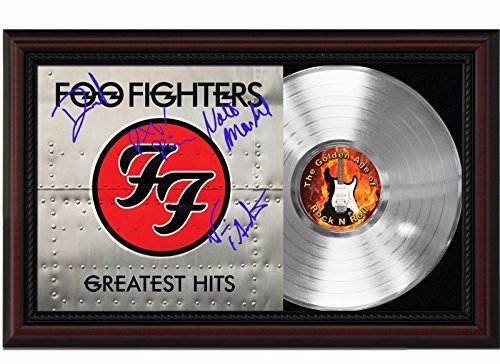 """Used, Foo Fighters - The Greatest Hits Cherrywood Platinum Signature Display """"M4"""" for sale  USA"""
