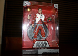 "Star Wars Poe Dameron Elite Series Die Cast 7"" Action Figure Disney Exclusive - $29.69"