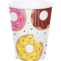 Donut Time 9 Oz. Paper Cups, Case of 96 - $41.65