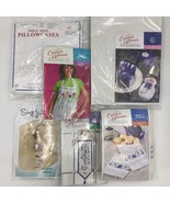 Lot of 6 Creative Woman Kit Club Jack Dempsey Stitch Simply Beads Kits N... - $39.95