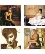 Lot of 4 CDs Martina McBride K.D. Lang LeAnn Rimes - No Cases - $2.99