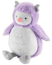 "NWT Carters Plush Toy Stuffed Animal Owl 8"" - 10"" Lovey Forest Bird Night Purple - $19.99"