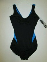 Leotard New Size Medium -Fits XS Adult Dance Gymnastics Ballet Body Wrappers LC - $12.99