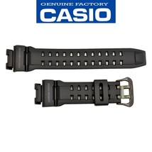 Genuine CASIO G-SHOCK Gulfman Watch Band Strap G-9100BP-1 Black Rubber - $90.32 CAD