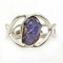 Natural Kyanite 925 Solid Sterling Silver Ring Jewelry Sz 8, EA25-6 - $30.68