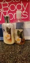 Bath & Body Works White Tea Ginger Shower Gel & Lotion Used - $5.94