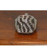 Pre-Owned Women's Gossip GSP564 Rhinestone Stretch Band Ring Watch - $15.84