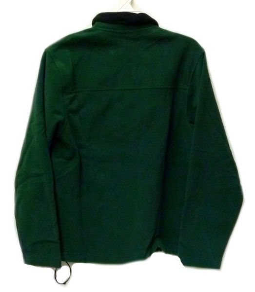 Fleece Jacket Old Navy Uniform Unisex Hunter Green 1/4 Zip Performance L New image 9