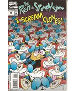 Marvel The Ren & Stimpy Show #12 I Scream Clones Cartoon Character Humor... - $3.95