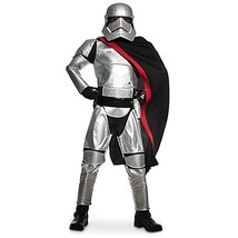 Disney Store Girls Star Wars The Force Awakens Captain Phasma Costume 5 6 - $24.74