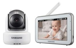 """** New Other ** Samsung SEW-3043W BrightVIEW Baby Monitor 5"""" Touch Scree... - $94.00"""