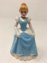 Vintage Japan marked CINDERELLA Porcelain Ceramic Figurine Disney Figure 1970s - $14.01