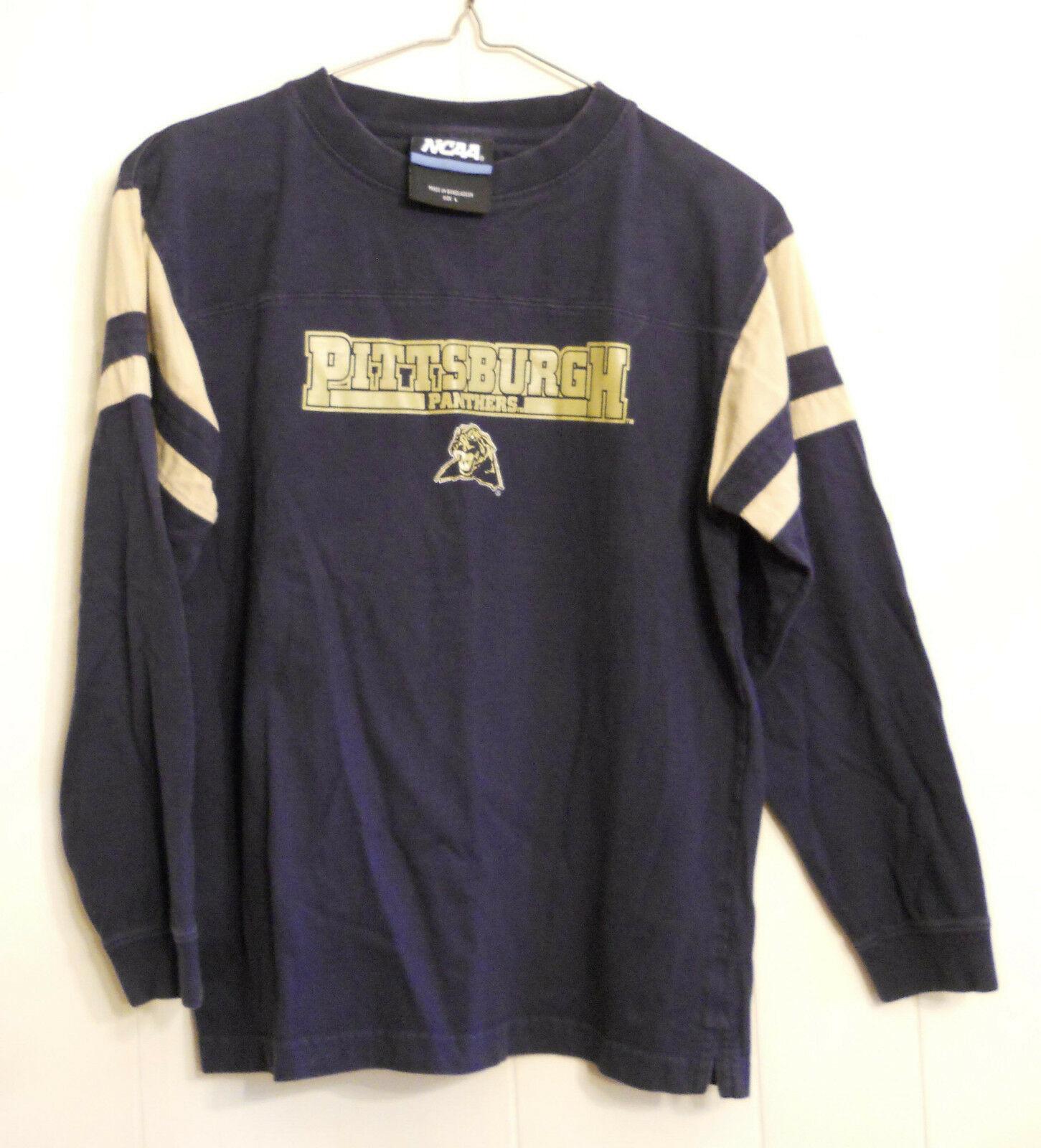 NCAA Pitt Panthers Youth Jersey Shirt Pittsburgh Basketball March Madness LARGE