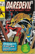 Daredevil Comic Book #72 Marvel Comics 1971 FINE+ - $17.34