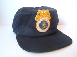 LB of TCW & H of A Double Horse Patch Hat Vintage Snapback Trucker Cap Made USA - $30.74