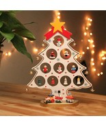 Christmas Tree Cartoon Ornament Party Snowman People String Decoration H... - $20.99