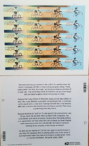 USPS Forever stamp of 20 - USA Bicycling - $15.95