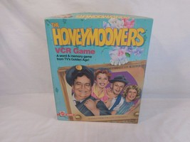 The Honeymooners VHS VCR Game By Mattel Jackie Gleason Complete 1986 - $14.03