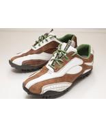 FootJoy LoPro 7.5 Brown White Women's Golf Shoes - $36.00