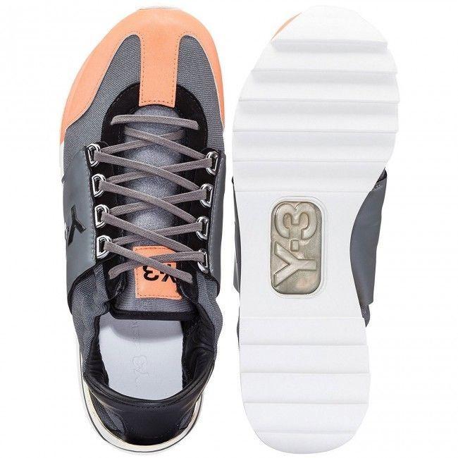 b5dcf328e New Adidas Y-3 Rhita Sport Orange Sneaker Women s Yohji Yamamoto 7 7.5 8