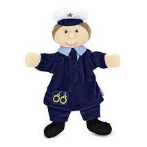 Sterntaler Hand Puppet Policeman, 29 x 27 x 9 cm, Blue