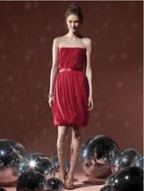 Dessy 8108......Cocktail length, Strapless Dress......Valentine...Size 16 - $49.49