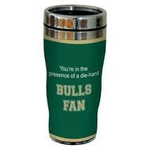 New Bulls College Football Fan Sip 'N Go 16-Ounce Stainless Lined Travel... - $17.99