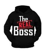 G&II The Real Boss Sweatshirt Hoodie Mom Dad Son Daughter Gift - $29.99+