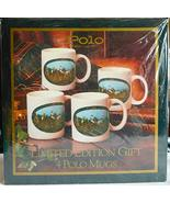 Set of 4 Limited Edition POLO Coffee Mugs in Collector's Box - $29.99
