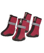 Zack & Zoey Neoprene Dog Boots Winter Paw Protection Safety Sole - Choos... - £24.60 GBP